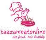 www.taazameatonline.com, the only ISO 9001:2015 & FSSAI CERTIFIED ONLINE MEAT STORE IN Hyderabad-Secunderabad.